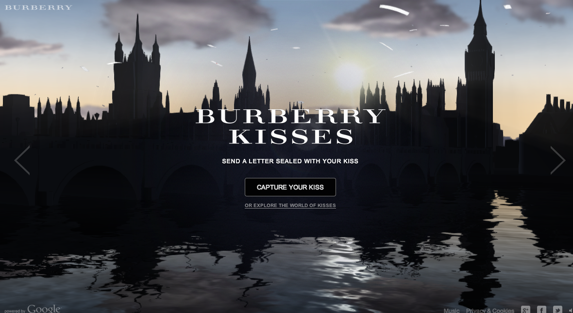 Burberry Kisses   Burberry