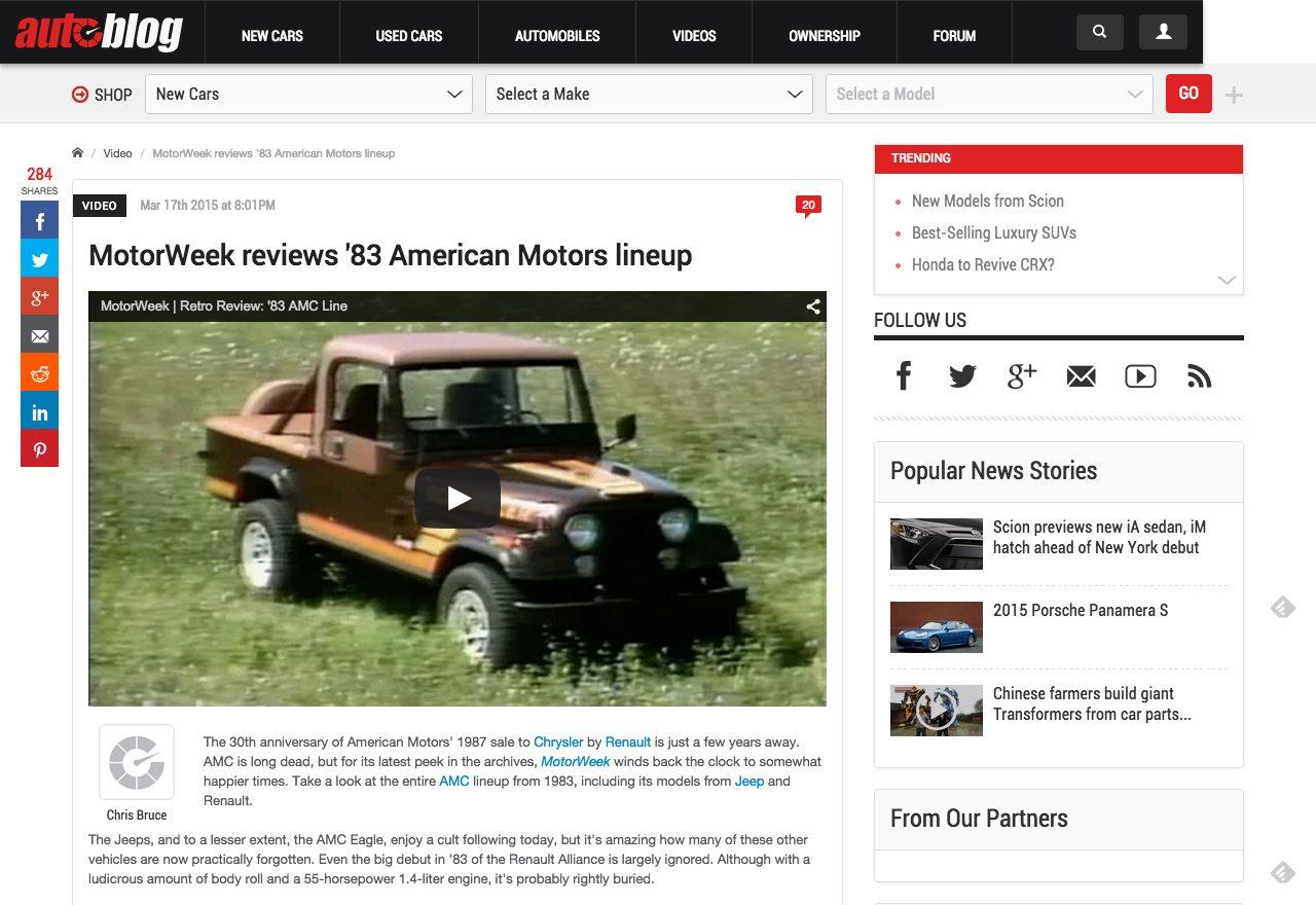 MotorWeek on AutoBlog