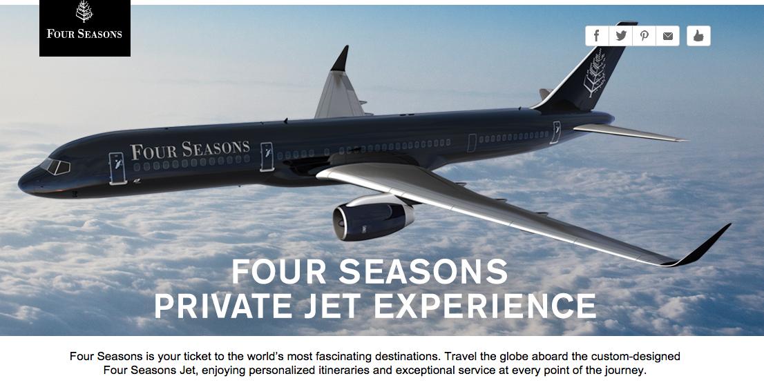 4 seasons jet
