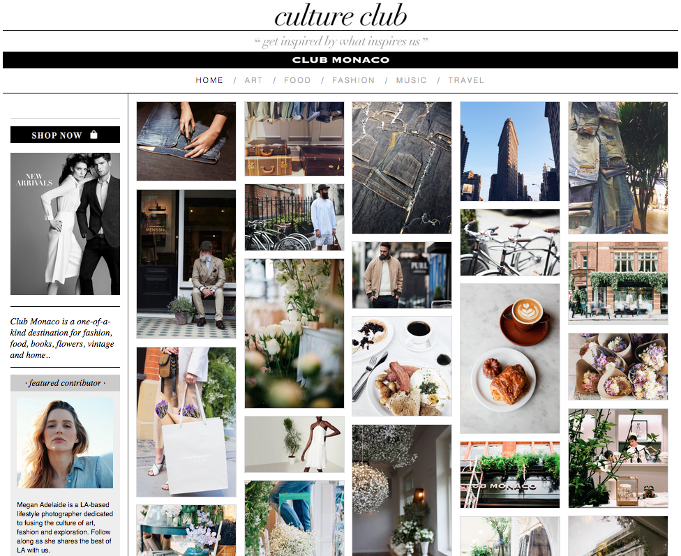 Fashion Blogs | Club Monaco