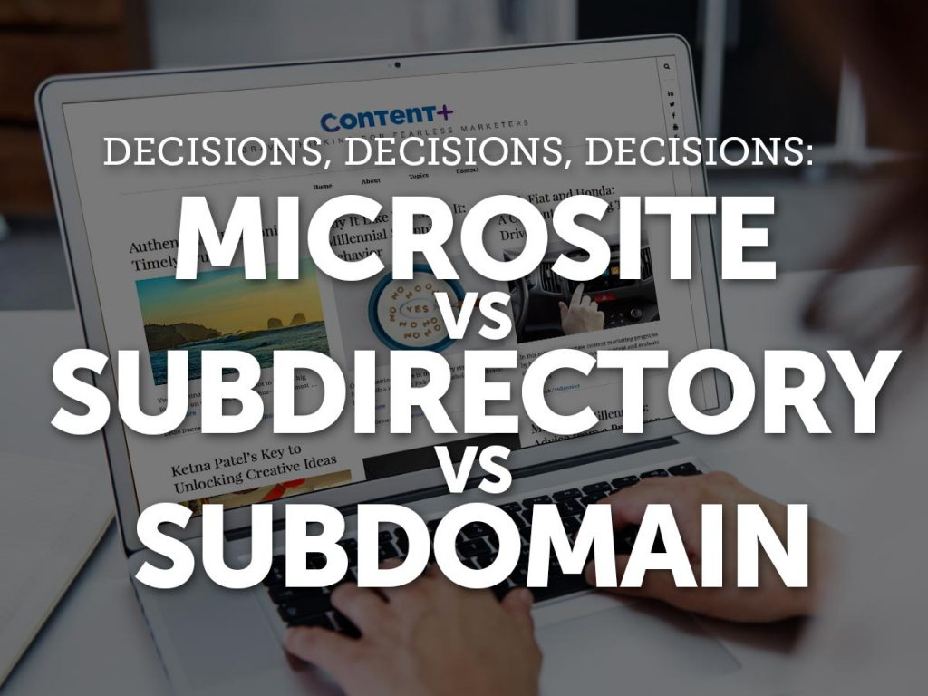 subdirectory-vs-subdomain