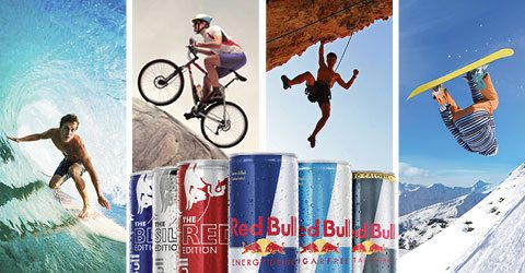 Red bull in marketing