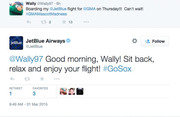 Jet Blue Twitter