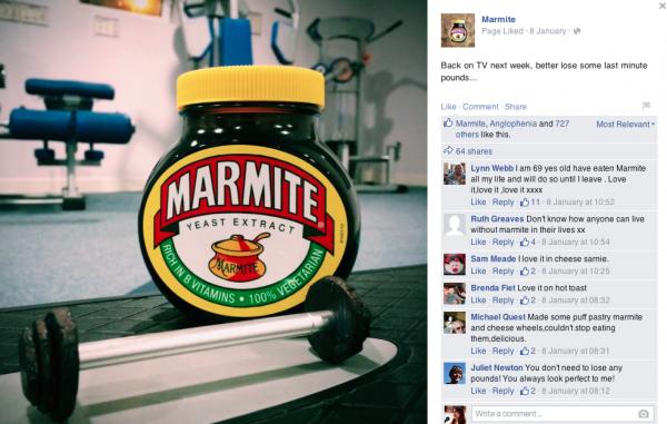 Marmite-Facebook