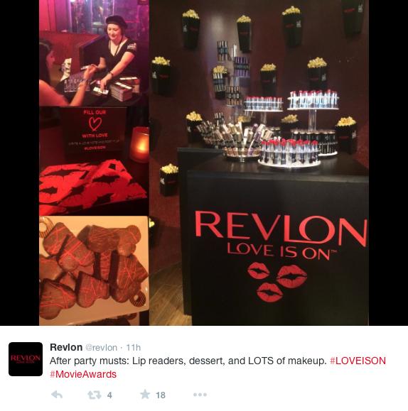 Revlon-Twitter