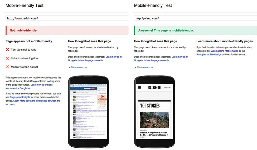 Google's Mobile-Friendly Algorithm: Surviving Mobilegeddon