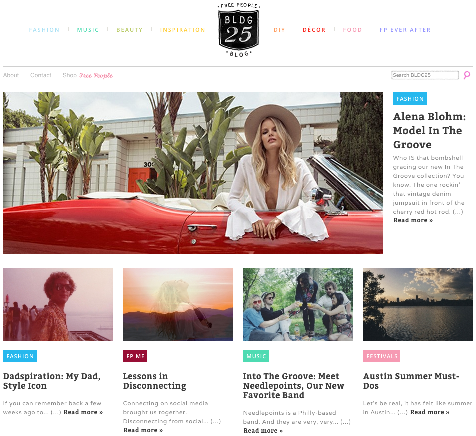 Fashion Blogs | Free People