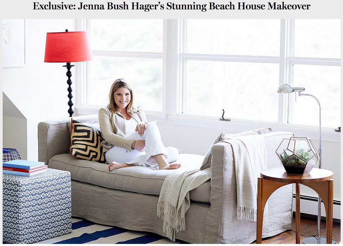 Jenna Bush Hager Beach House Makeover