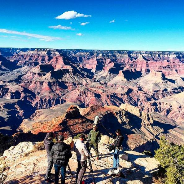 video shoot grand canyon