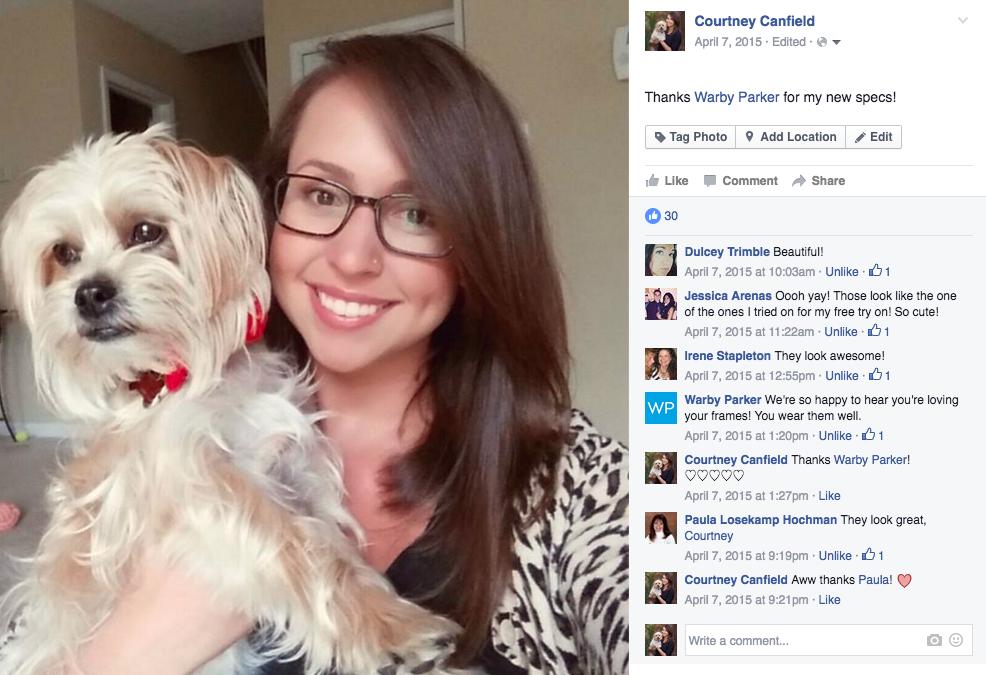 bcbea10b3c2 Warby Parker s Secrets to Social Media Success