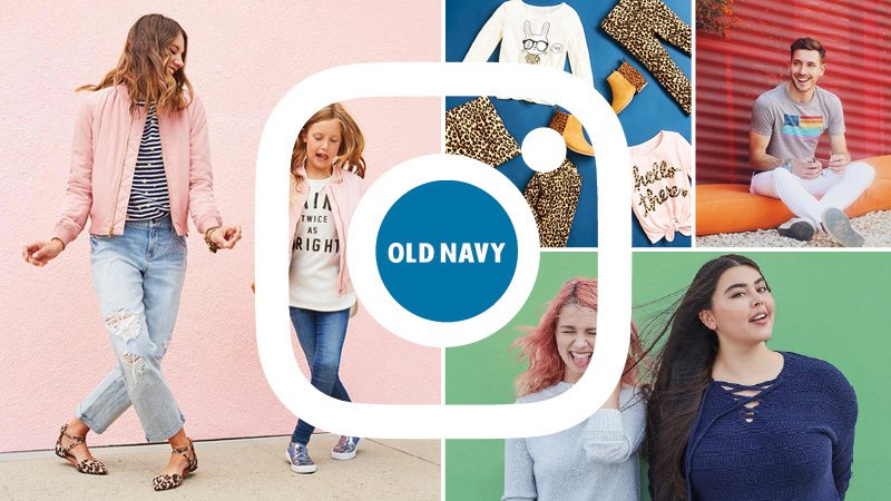 Four Reasons to Love Old Navy's Instagram - Pace Blog