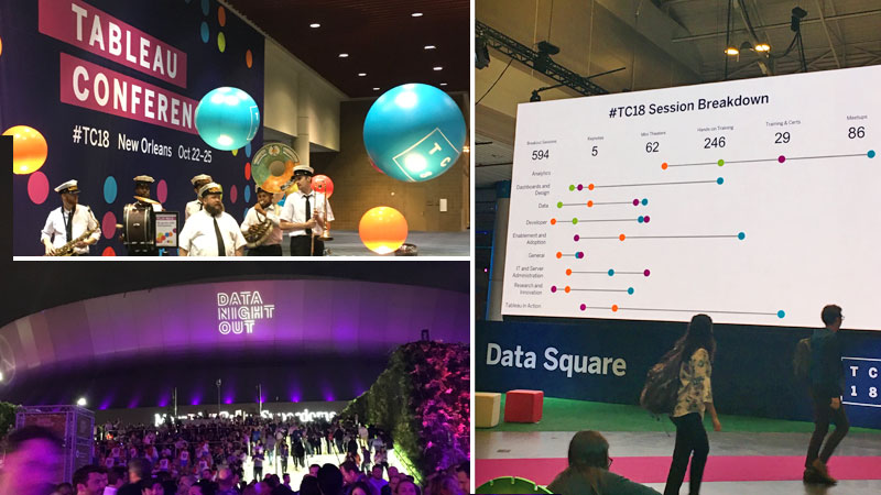 Bringing Numbers to Life: 2018 Tableau Conference Insights